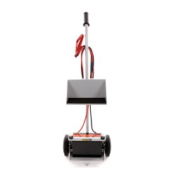 B-G RACING - BATTERY TROLLEY DOUBLE TRAY (POWDER COATED)