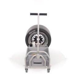 B-G RACING - FOLDING PIT TROLLEY (POWDER COATED)
