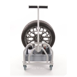 B-G RACING - MINI FOLDING PIT TROLLEY (POWDER COATED)