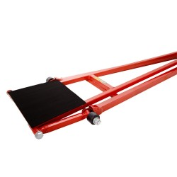 B-G RACING - QUICK LIFT JACK / LONG FORMULA WITH SAFETY LOCK (RED)