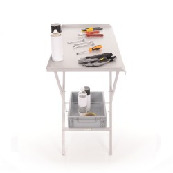 B-G RACING - FOLDING PADDOCK TABLE (POWDER COATED)