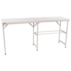 B-G RACING - LARGE FOLDING TABLE / KART TYRE RAIL (SINGLE)