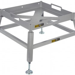 B-G RACING - LEVELLING TRAYS WITH SHORT LEG EXTENSIONS KIT
