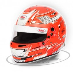 BELL HELMETS - RS7 PRO STAMINA RED RACING HELMET