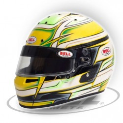 BELL HELMETS - KC7 CMR YELLOW RACING HELMET