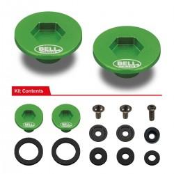 BELL ACCESSORIES - PIVOT KIT (SE03 - SE05) GREEN