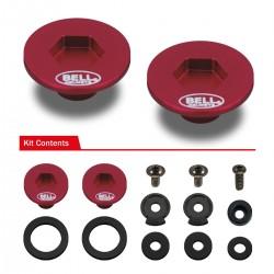 BELL ACCESSORIES - PIVOT KIT (SE07 - SE077) RED