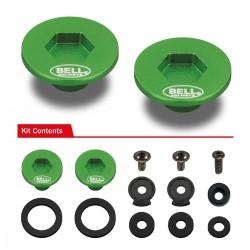 BELL ACCESSORIES - PIVOT KIT (SE07 - SE077) GREEN