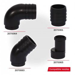 BELL ACCESSORIES - TOP FORCE AIR 10 HOLES (131)