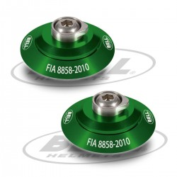 BELL ACCESSORIES - HANS POST ANCHOR SPECIAL GREEN KIT