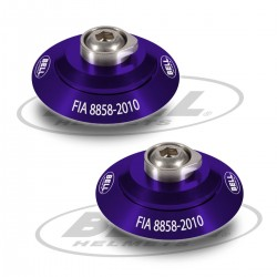 BELL ACCESSORIES - HANS POST ANCHOR SPECIAL PURPLE KIT