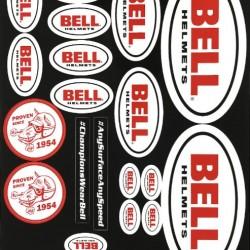 BELL ACCESSORIES - DECAL SHEET