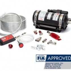 FEV FIRE SUPPRESSION - 8865 N-TEC REMOTE CHARGE GAS SYSTEM