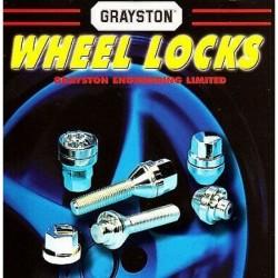 GRAYSTON WHEEL LOCKS - NEW LOCK SET FOR 4X4s