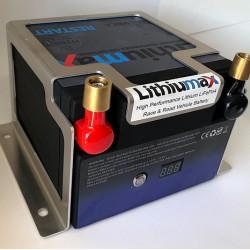 LITHIUMAX LITHIUM BATTERIES - ALUMINIUM MOUNT FOR RACE9, RESTART9 INCL. EB/HYBRID SERIES