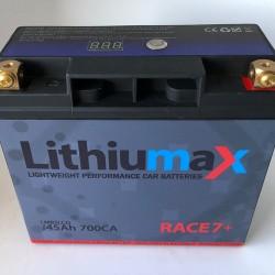 LITHIUMAX LITHIUM BATTERIES - NEW RACE7 + 700CA ULTRA-LIGHT ENGINE STARTER BATTERY