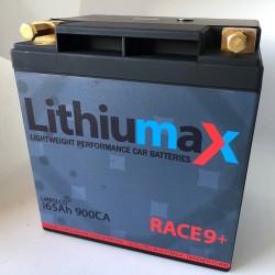 LITHIUMAX LITHIUM BATTERIES - GEN 4 RESTART9 + LCD 900CA ULTRA-LITE ENGINE STARTER BATTERY