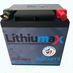 LITHIUMAX LITHIUM BATTERIES - RESTART9 EV/HYBRID SERIES ULTRA-LITE VEHICLE BATTERY