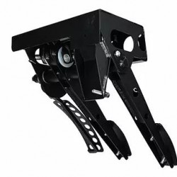 OBP MOTORSPORT - CLASSIC MINI TOP MOUNTED 3 PEDAL SYSTEM
