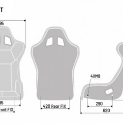 SPARCO GAMING SEATS - GRID Q QRT SEAT