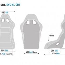 SPARCO GAMING - EVO L QRT GAMING SEAT