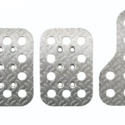SPARCO PEDAL SETS - EMBOSSED ANODISED ALUMINIUM 3 PIECE