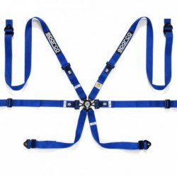 SPARCO SAFETY HARNESSES - 6 POINT BELT