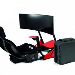 SPARCO GAMING - EVOLVE GP / COCKPIT F1 + MONITOR + PC + KEYBOARD