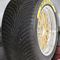 "DUNLOP RACING TYRES - 235/640 R18"" (SLICK/WET)"