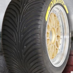 "DUNLOP RACING TYRES - 245/650 R18"" (SLICK/WET)"