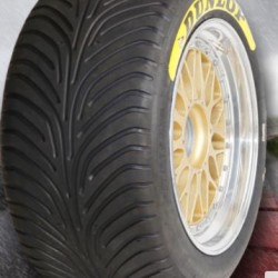 "DUNLOP RACING TYRES - 265/660 R18"" (SLICK/WET)"