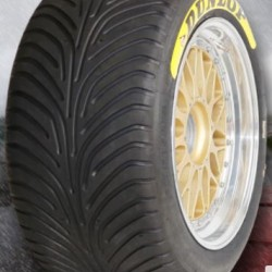 "DUNLOP RACING TYRES - 305/660 R18"" (SLICK/WET)"