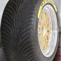 "DUNLOP RACING TYRES - 305/680 R18"" (SLICK/WET)"