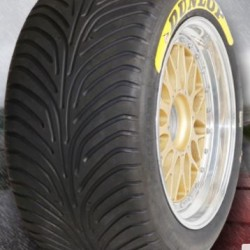 "DUNLOP RACING TYRES - 310/710 R18"" (SLICK/WET)"