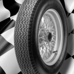 """DUNLOP RACING TYRES - 700 17"""" (VINTAGE/ROAD)"""