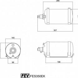 FEV FIRE EXTINGUISHERS - FES350EK
