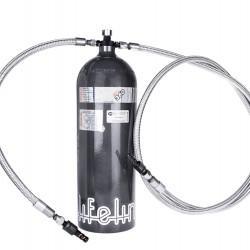 LIFELINE FIRE EXTINGUISHER - ZERO 360 SFI (DUAL NOZZLE)