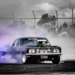 MICKEY THOMPSON DRAG TYRES - HOW TO DO A BURNOUT