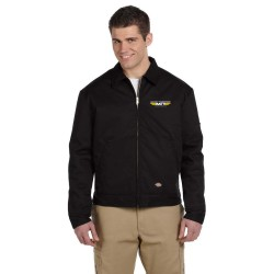 MICKEY THOMPSON APPAREL - DICKIES MEN'S 9 OZ. LINED EISENHOWER JACKET