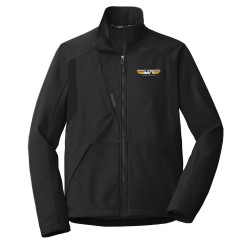 MICKEY THOMPSON APPAREL - PORT AUTHORITY BLACK BLOCK SOFT SHELL JACKET