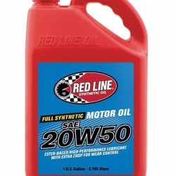 REDLINE HIGH PERFORMANCE OIL - 20W50