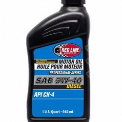 REDLINE PROFESSIONAL SERIES OIL - 5W40 DIESEL