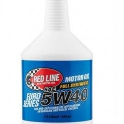 REDLINE HIGH PERFORMANCE OIL - 5W40 EURO SERIES