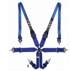 TRS SAFETY HARNESSES - MAGNUM 6 POINT SUPERLITE FHR ONLY FIA HARNESS