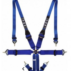 TRS SAFETY HARNESSES - MAGNUM 6 POINT ULTRALITE FHR ONLY FIA HARNESS