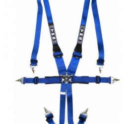TRS SAFETY HARNESSES - PRO 6 POINT SUPERLITE FHR ONLY FIA HARNESS