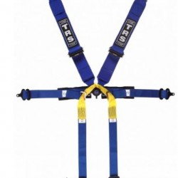 TRS SAFETY HARNESSES - PRO 6 POINT SUPERLITE SINGLE SEATER HARNESS