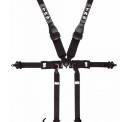 TRS SAFETY HARNESSES - PRO 6 POINT SUPERLITE SINGLE SEATER FHR ONLY FIA HARNESS