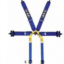 TRS SAFETY HARNESSES - PRO 6 POINT SINGLE SEATER HARNESS