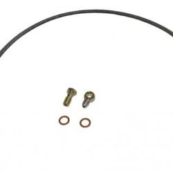 OBP - 1620MM STAINLESS STEEL BRAIDED RESERVOIR FEED PIPE KIT FOR SUBARU